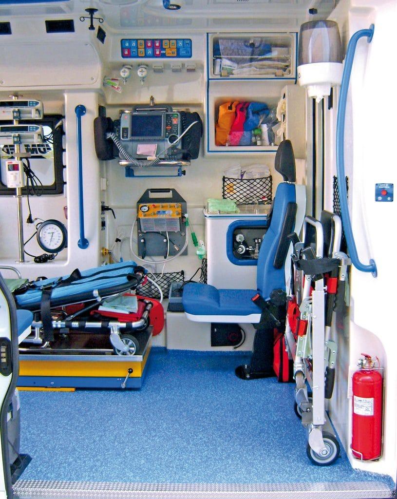 Ambulanza ducato EDM modello aidsafe