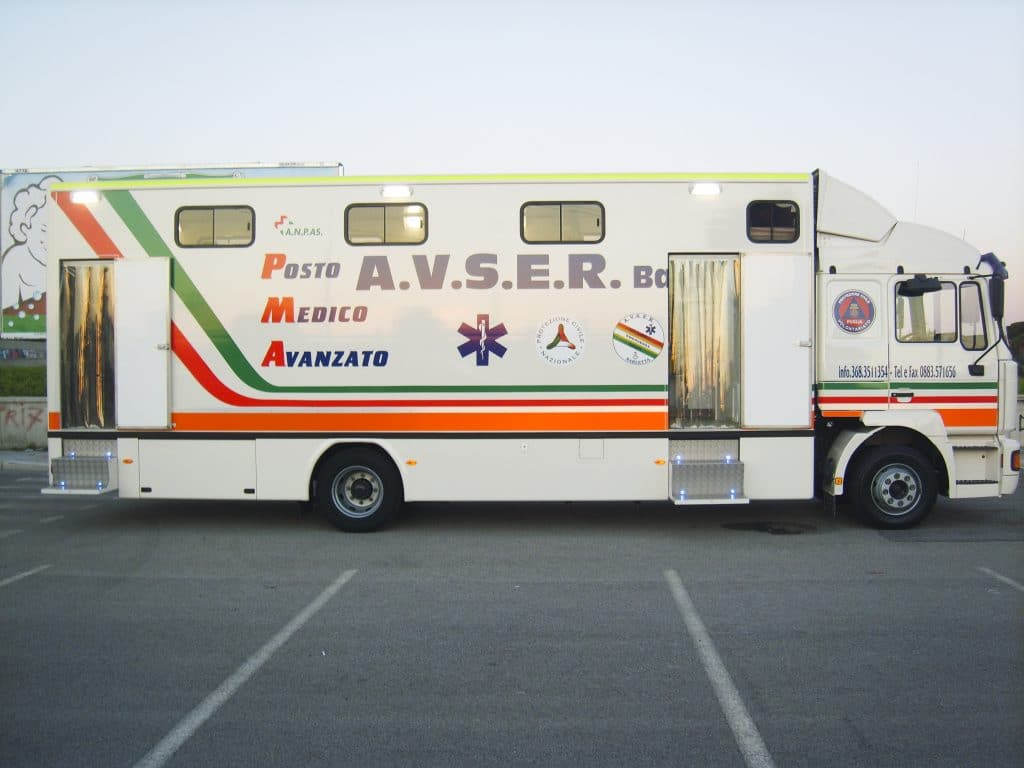 ambulatorio mobile AVSER