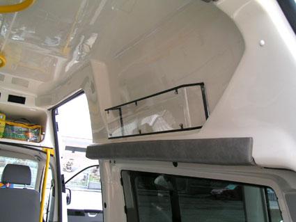 Dettaglio fiat Ducato MOSS EDM Ambulanze