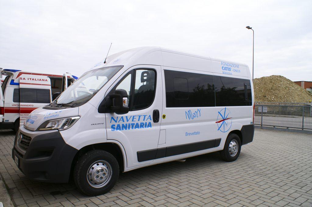 Esterno fiat Ducato MOSS EDM Ambulanze
