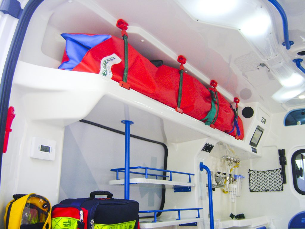 ambulanza ducato EDM modello aidcomfort