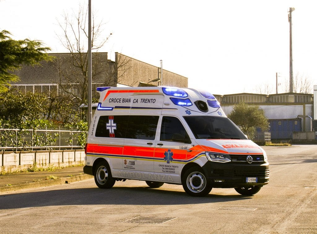 1 Ambulanza EDM Volkswagen T6 modello trentino