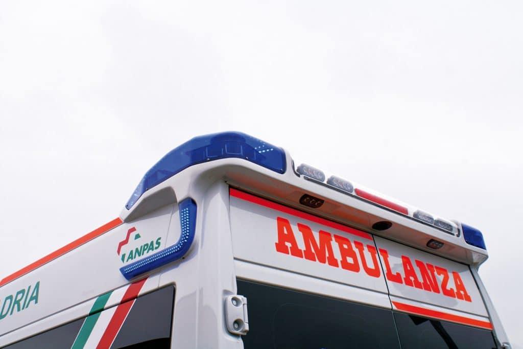 11 Fiat Ducato EDM Ambulanza: gli esterni