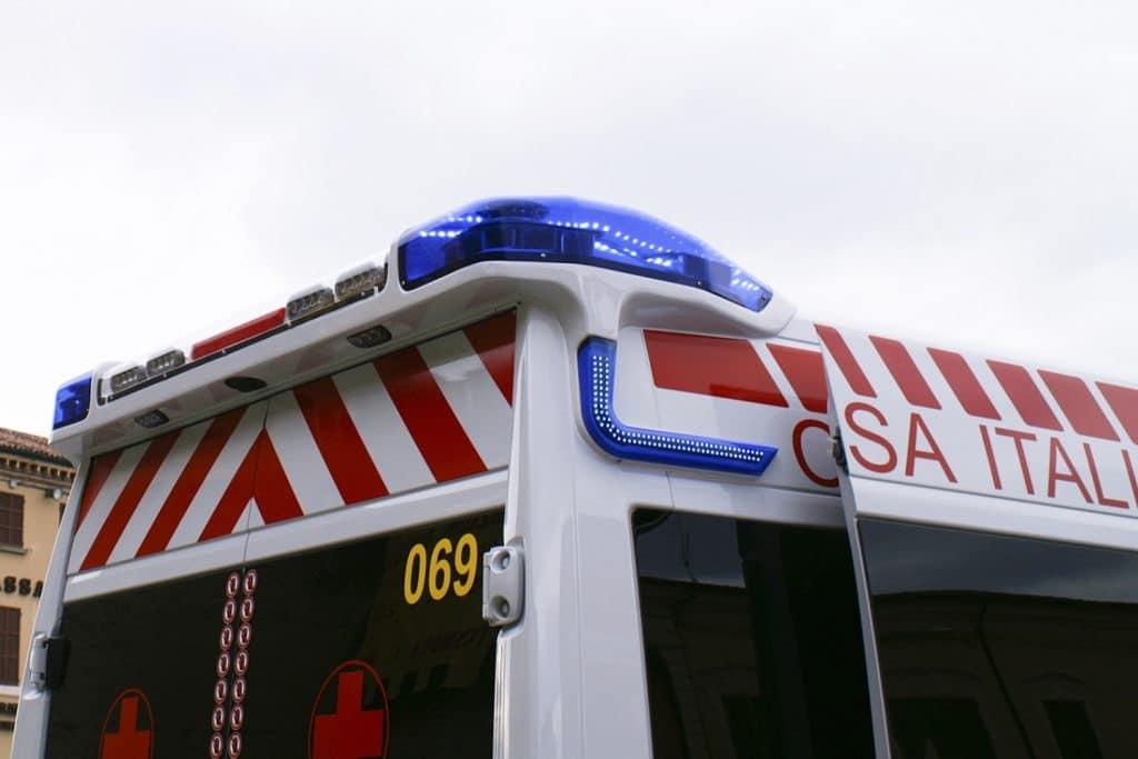 13 Fiat Ducato EDM Ambulanza: gli esterni