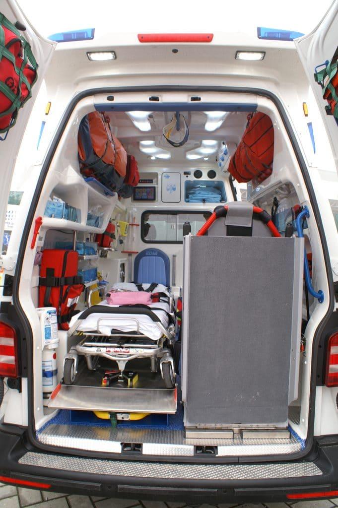 14 Ambulanza EDM Volkswagen T6 modello trentino