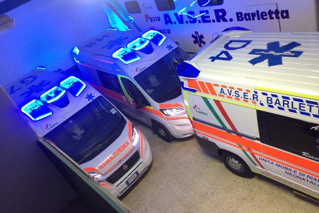 15 Fiat Ducato EDM Ambulanza: gli esterni