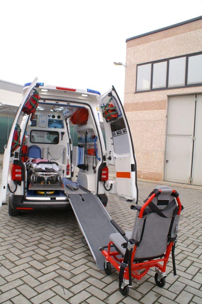 Ambulanza EDM Volkswagen T6 modello trentino