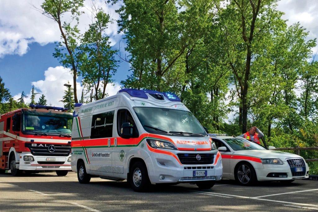 Fiat Ducato EDM Ambulanza: gli esterni