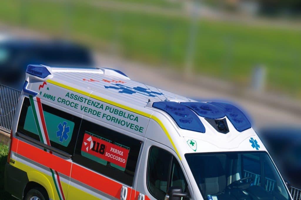 5 Fiat Ducato EDM Ambulanza: gli esterni