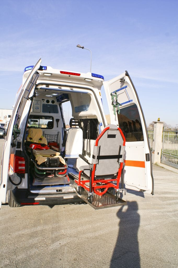 5 Ambulanza EDM Volkswagen T6 modello trentino