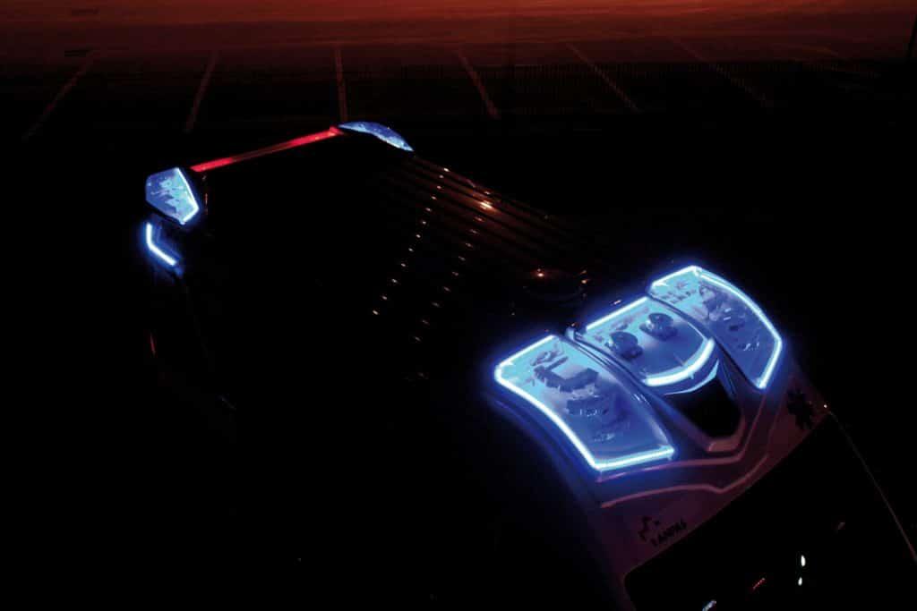 6 Spoiler notturno - Fiat Ducato EDM Ambulanza: gli esterni