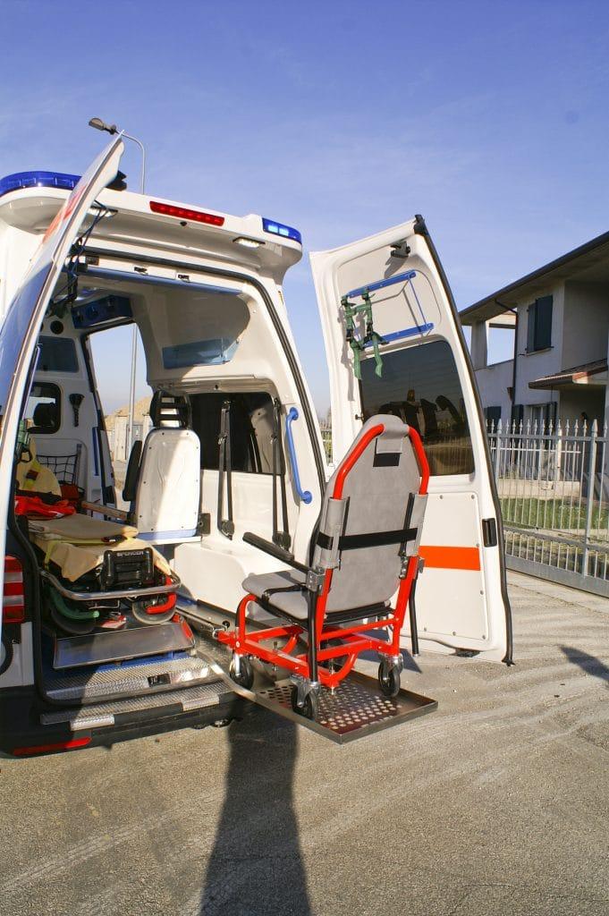 6 Ambulanza EDM Volkswagen T6 modello trentino