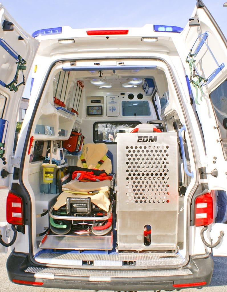 7 Ambulanza EDM Volkswagen T6 modello trentino