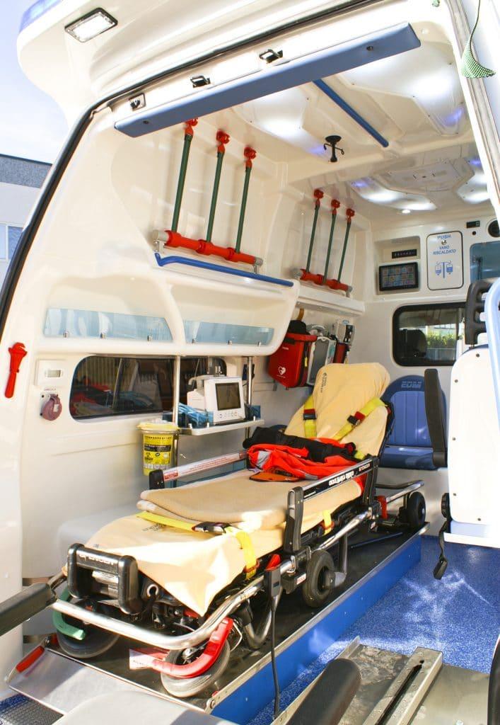 8 Ambulanza EDM Volkswagen T6 modello trentino
